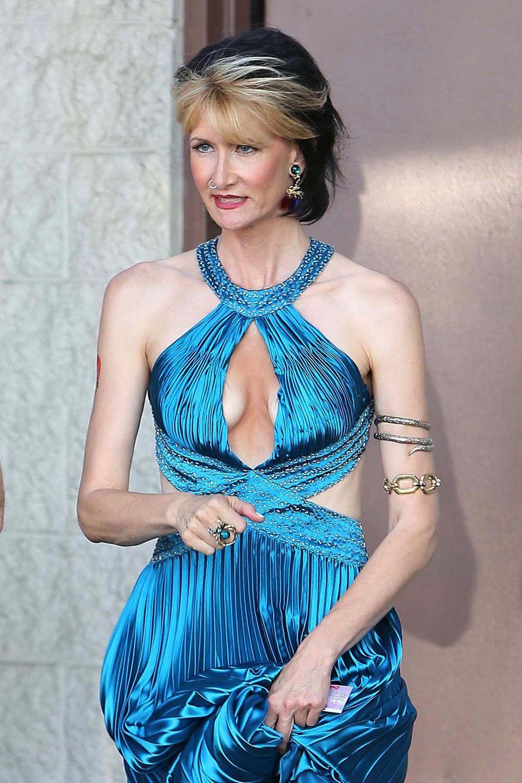 4. Juni 2013: Laura Dern erscheint am Filmset in Studio City.