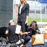 1. Oktober 2013: Als Werbegesicht von Hugo Boss dreht Gwyneth Paltrow in Los Angeles einen neuen Werbespot.