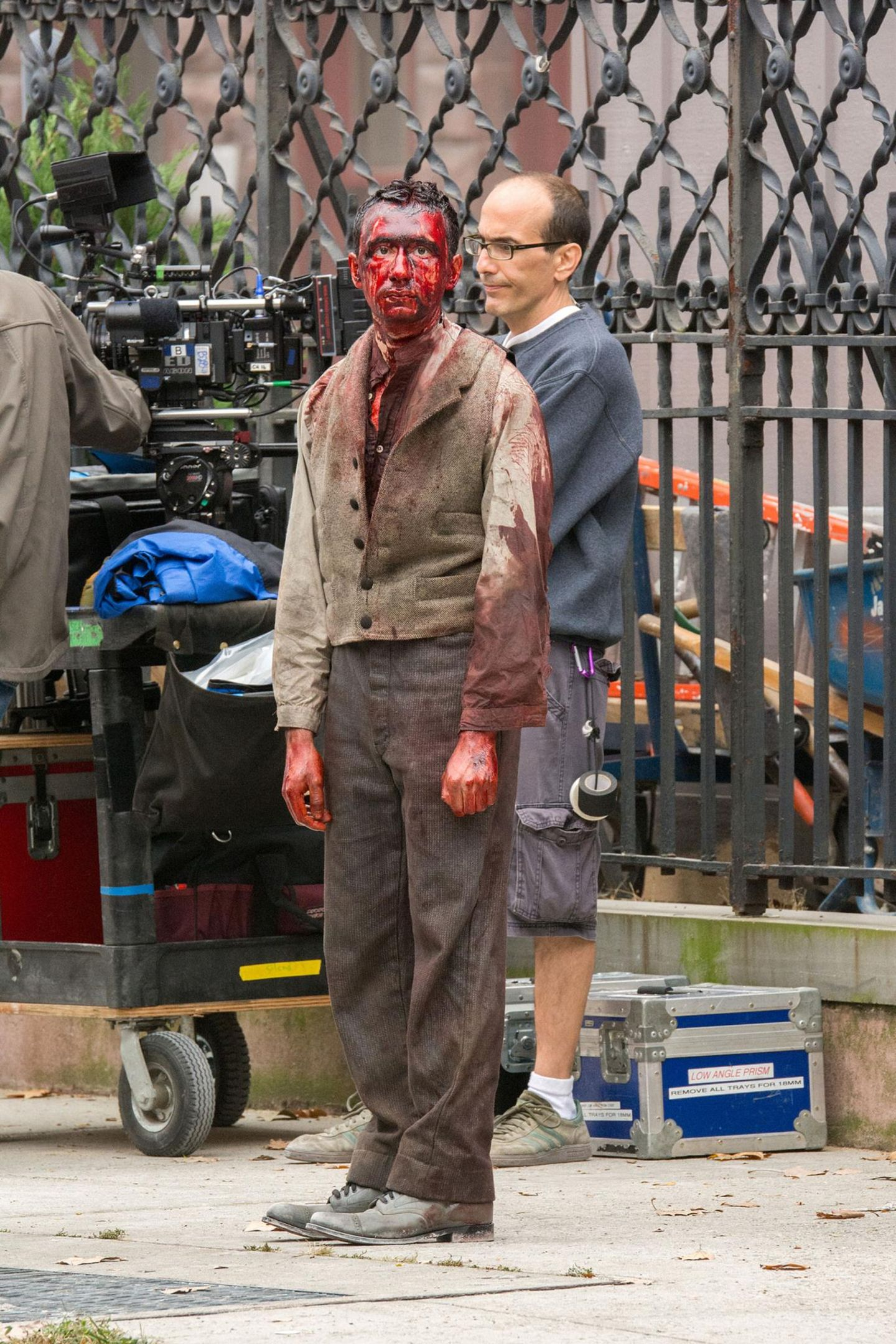 "7. Oktober 2013: In New York dreht Steven Soderbergh gerade die Miniserie ""The Knick"" über ein Krankenhaus Anfang des 20. Jahrhunderts."