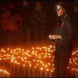 1. Dezember 2013: Prinzessin Marie nimmt am Weihnachtskonzert der AIDS-Stiftung in Kopenhagen teil.