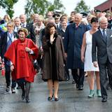 18. Juni 2013: König Carl Gustaf und Königin Silvia von Schweden besuchen ihre norwegischen Pendants. Sie werden von Königin Sonja, König Harald sowie dem norwegischen Volk herzlich empfangen.