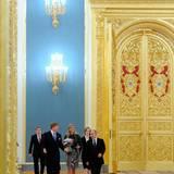 8. November 2013: Präsident Wladimir Putin empfängt das niederländische Königspaar Willem-Alexander und Máxima im prunkvollen Moskau.