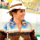 10. Dezember 2013: Königin Máxima der Niederlande besucht die Vereinten Nationen in Äthiopien.