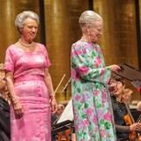21. Juni 2013: Königin Margrethe und ihre beiden Schwestern Prinzessin Benedikte und Ex-Königin Anne-Marie sind bei einem Festkonzert in Kopenhagen zu Gast.