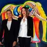 """1. Dezember 2013: Prinzessin Stéphanie von Monaco ist die Präsidentin der Stiftung """"Fight Aids Monaco"""". Mit ihrer Tochter Pauline Ducret sammelt sie Spenden am Welt AIDS Tag in Monaco."""