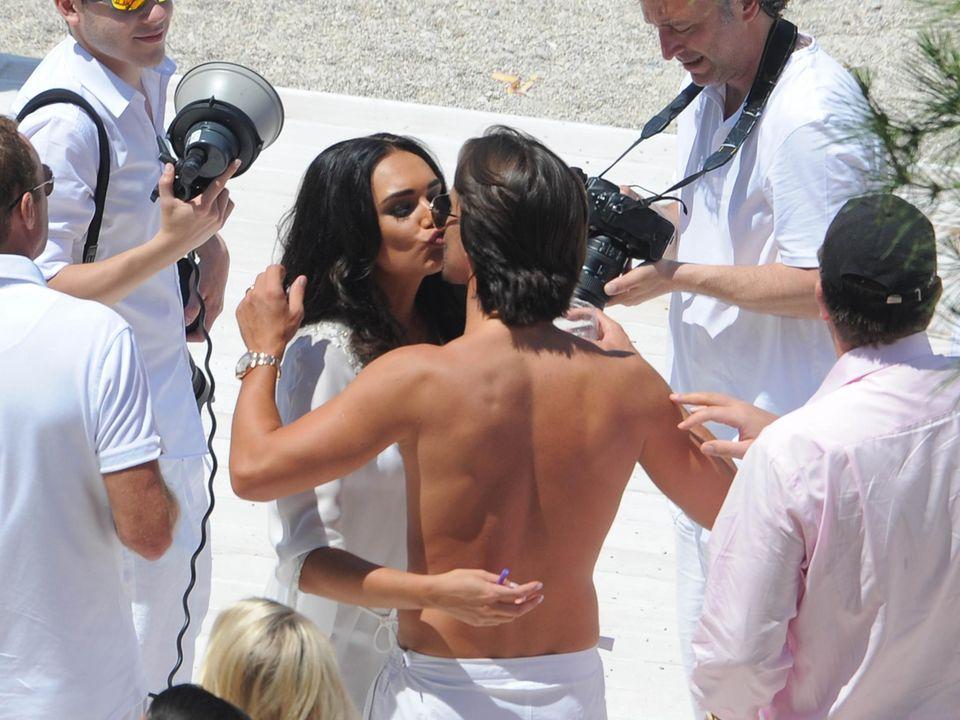 12. Juni 2013: Tamara Ecclestone hat ihren Freund Jay Rutland geheiratet. Gefeiert wird an der Côte d'Azur.