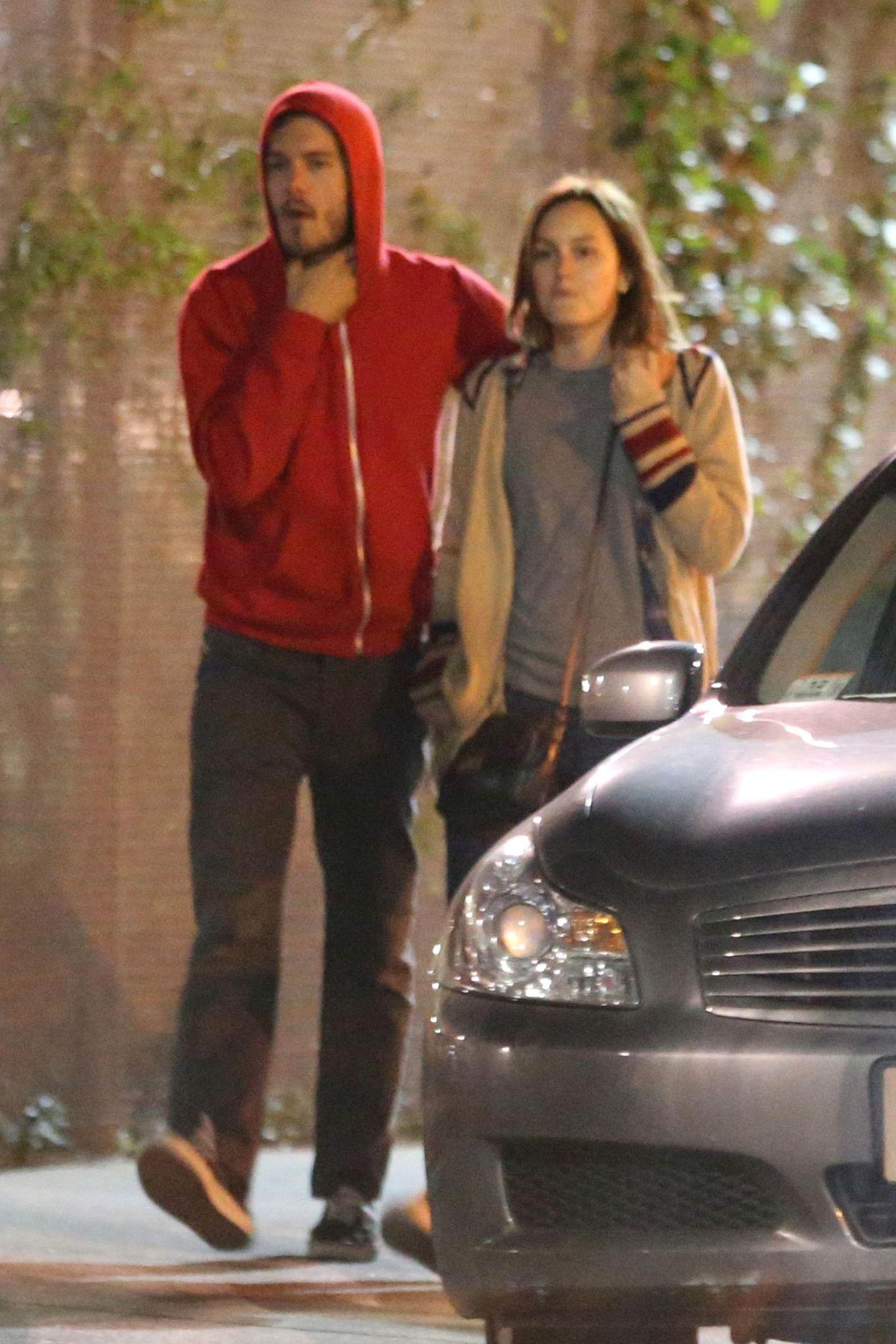 22. Februar 2013: Adam Brody und Leighton Meester zeigen sich öffentlich als Paar.