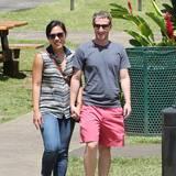 1. September 2013: Mark Zuckerberg macht mit seiner Frau Priscilla Urlaub auf Hawaii.