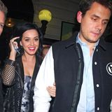 "13. Oktober 2013: Katy Perry und John Mayer haben die ""Saturday Night Live Afterparty"" in New York besucht."