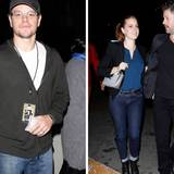 26. November 2013: Stars wie Matt Damon und Amy Adams besuchen Justin Timberlakes Konzert im Staples Center in Los Angeles.