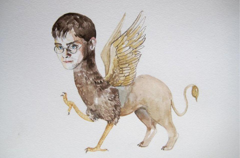 Daniel Radcliffe als mystische Kreatur