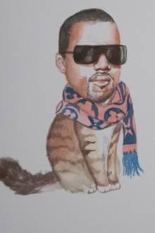 Kanye West und Aziz Ansari als Katzen-Kumpel