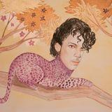 "Prince als ""purple"" Leopard"
