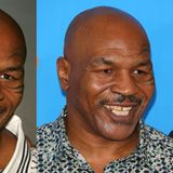 Nach mehreren Boxkämpfen fehlen Mike Tyson ein paar seiner Zähne. Die große Lücke wird provisorisch mit einem Goldzahn geflickt. Ein Jahr später strahlt sein Gebiss in neuem Glanz.