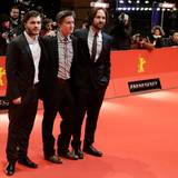 Emile Hirsch, Regisseur David Gordon Green und Paul Rudd