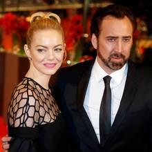 Emma Stone und Nicolas Cage