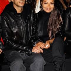 Fashion Week Mailand: Janet Jackson und ihr Mann Wissam Al Mana haben sich bei Roberto Cavalli in die erste Reihe gesetzt.