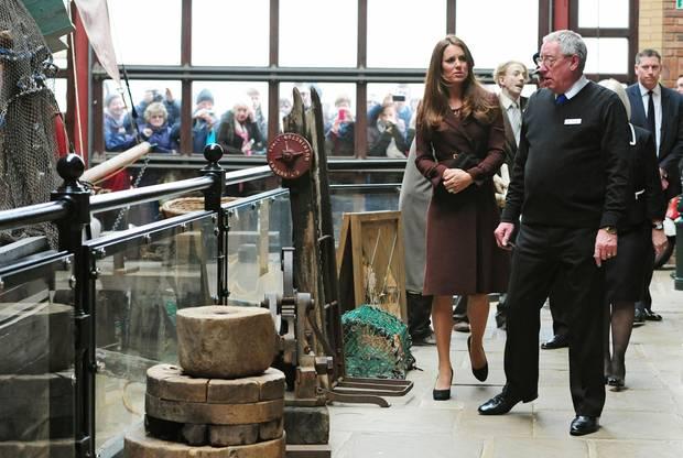 Zunächst steht die Besichtigung des Fishing Heritage Centers an.