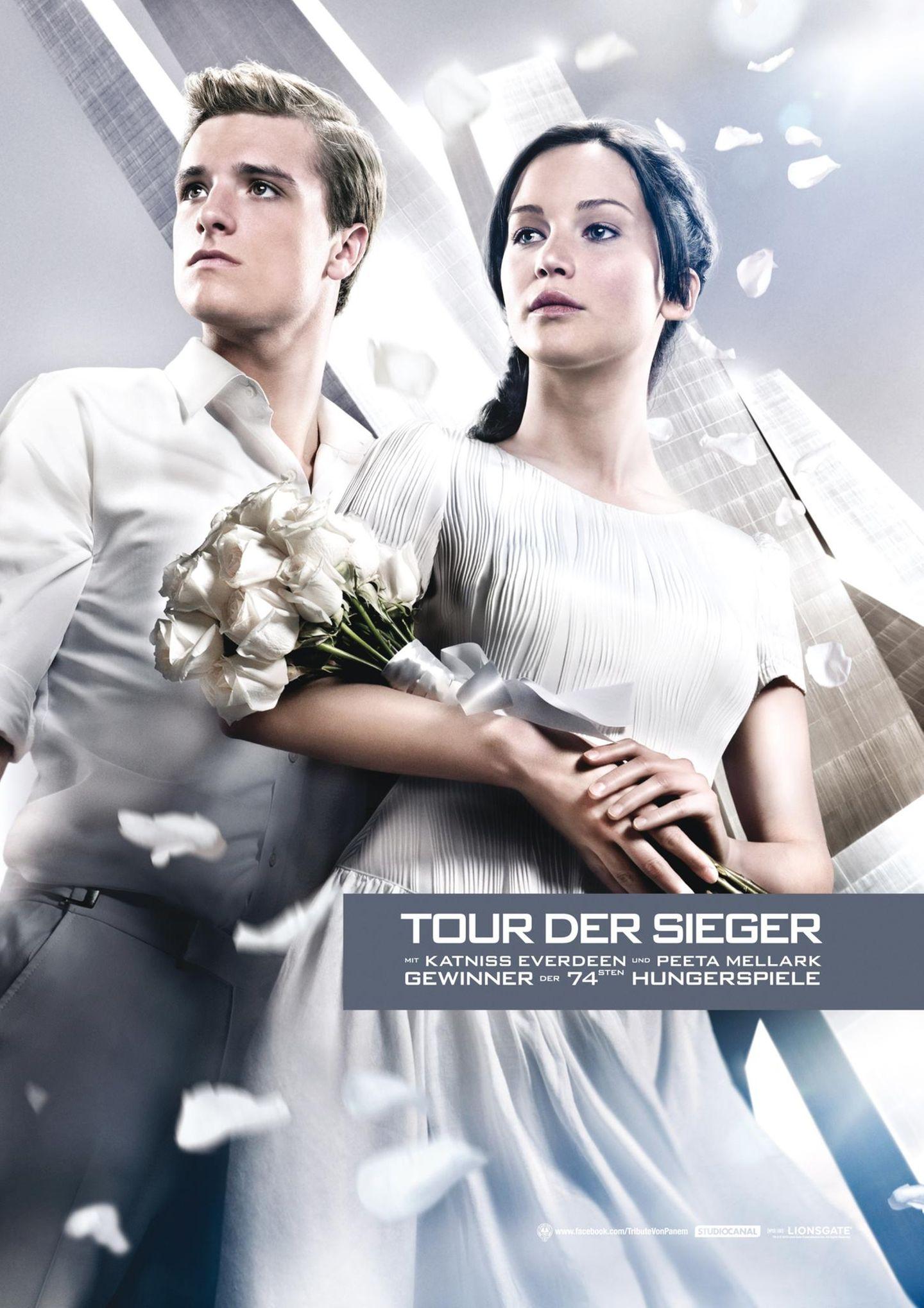 Peeta (Josh Hutcherson) und Katniss (Jennifer Lawrence)