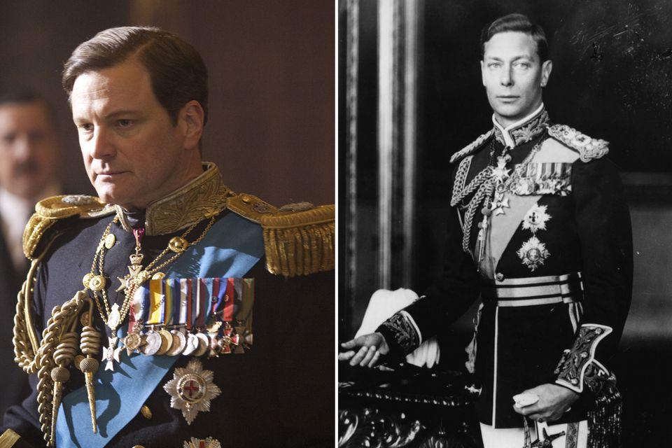 """Colin Firth wird für seine filmische Leistung als König George VI. 2010 in """"The King's Speech"""" mit einem Oscar bedacht."""