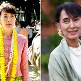"""""""The Lady"""" mit Michelle Yeoh in der Hauptrolle ist eine Filmbiografie über die Politikerin und Friedensnobelpreisträgerin Aung San Suu Kyi."""
