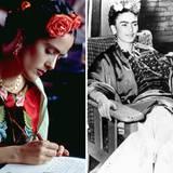 """Mit Salma Hayek wird 2002 das biografische Werk """"Frida"""" über das Leben der berühmten mexikanischen Malerin Frida Kahlo verfilmt."""