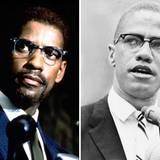 """""""Malcolm X"""" ist ein US-amerikanisches Filmdrama des Regisseurs Spike Lee aus dem Jahr 1992. Es handelt vom Leben des Führers der Bürgerrechtsbewegung Malcolm X, der von Denzel Washington gespielt wird."""
