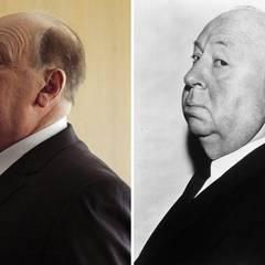 """Anthony Hopkins verwandelt sich 2012 für den Film """"Hitchcock"""" in den 1980 verstorbenen Kult-Filmregisseur Alfred Hitchcock."""