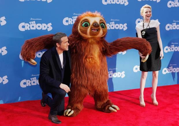 Ryan Reynolds und Emma Stone