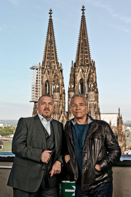 """Dietmar Bär und Klaus J. Behrendt lösen als """"Ballauf"""" und """"Schenk"""" schon seit 1997 die Kölner Kriminalfälle."""