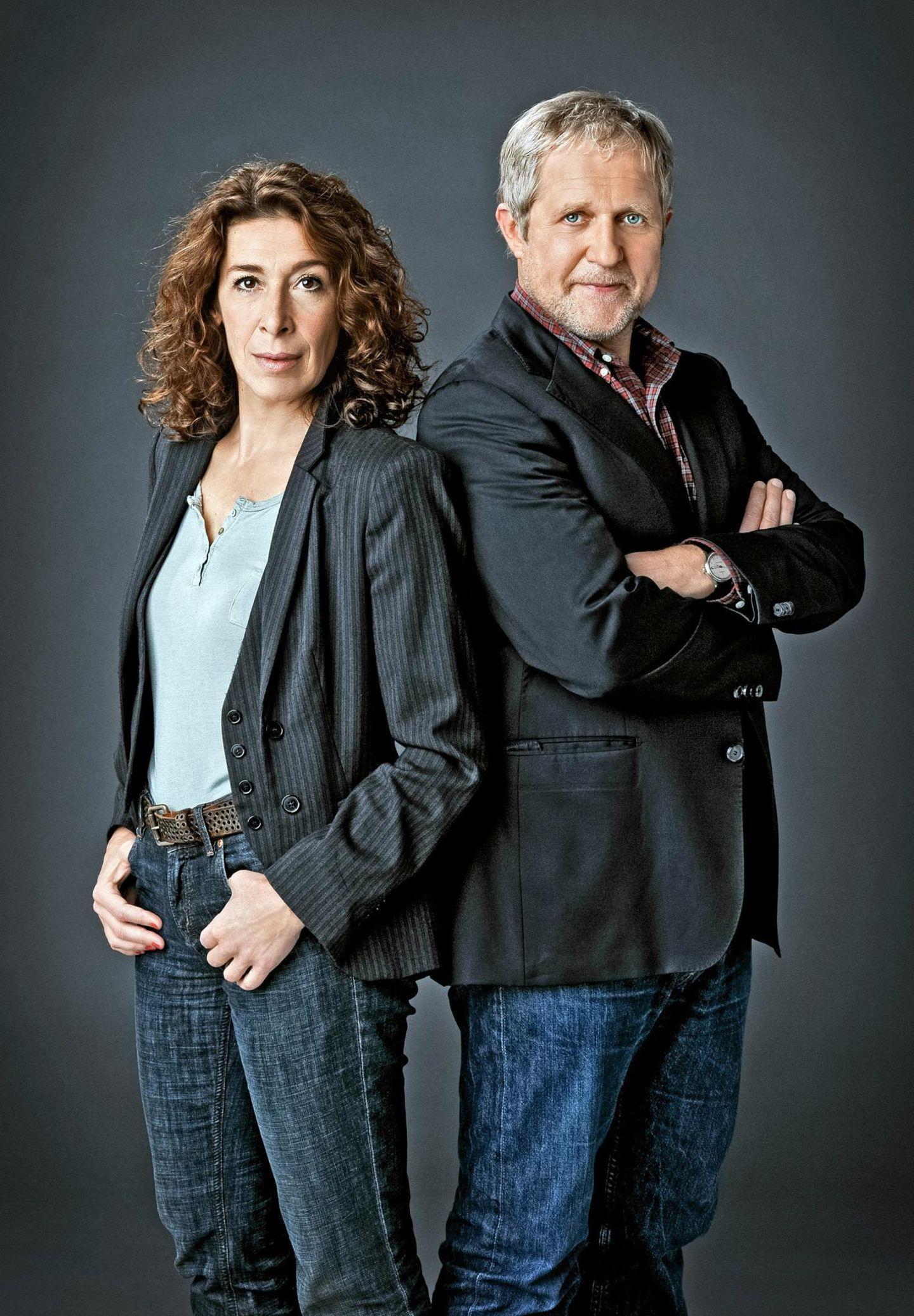 Mit Schmäh lösen Adele Neuhauser und Harald Krassnitzer die Wiener Kriminalfälle.