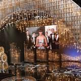 Den letzten Oscar des Abends kündigt First Lady Michelle Obma aus dem Weißen Haus in Washington an.