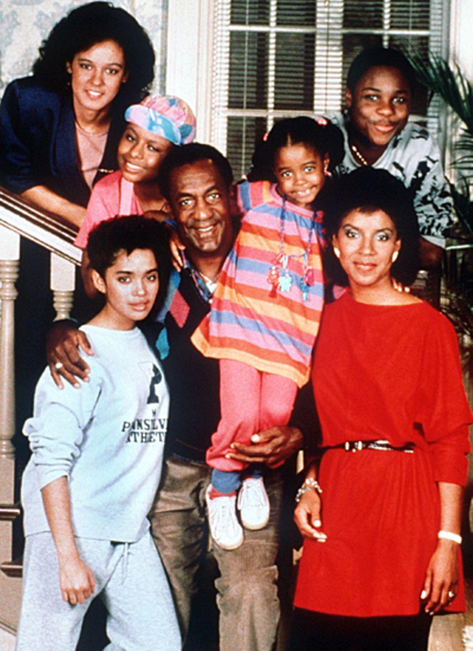 """In der """"Bill Cosby Show"""" spielte Keshia Knight Pulliam von 1984 bis 1992 """"Rudy"""", die jüngste Tochter im Hause """"Huxtable""""."""