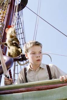 """Will Poulter spielt als Siebenjähriger in """"Der König von Narnia"""" die Rolle des """"Eustachius Knilch"""" - sein bisher größter Erfolg als Schauspieler."""
