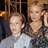Kate Hudson und Ryder Robinson    Ryder ist schon 12 Jahre alt und die Ähnlichkeit zu seiner Mutter Kate Hudson ist nicht zu übersehen.