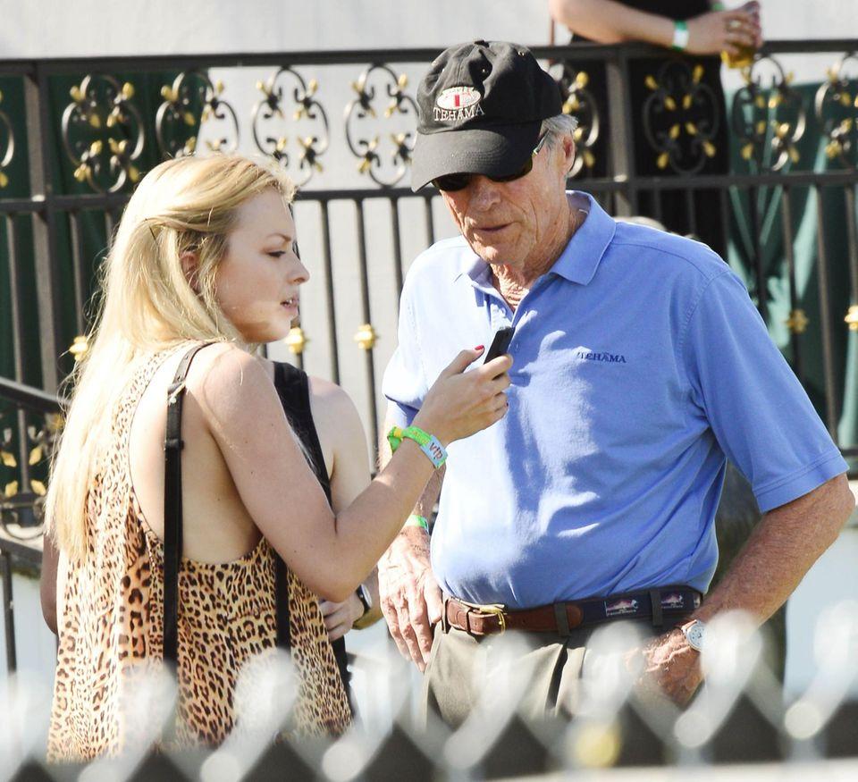 Clint Eastwood mit Tochter Francesca