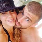 8. Juli 2014  Glücklich wie am ersten Tag: Shakira twittert ein Bild von sich und Piqué.