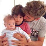 18. Mai 2015  Was für goldige Söhne Gerard Piqué hat, zeigt er regelmäßig auf Twitter. Dies ist das aktuellste Foto von Sasha und Milan.
