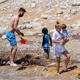 26. Mai 2016  Nach der Fußballsaison und vor der Europameistertschaft machen Piqué und Shakira mit ihren Söhnen Milan und Sasha Familienurlaub auf Ibiza.
