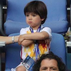 Besonders Milan ist traurig, dass Papa verloren hat.