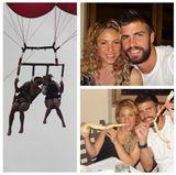 31. Juli 2013  Knutschen, lächeln, essen: Shakira teilt mit ihren Fans diese kurze Fotozusammenfassung ihres Familienurlaubs.