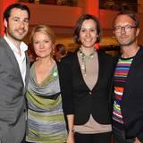Anzeigenleiter Jonas Wolf, Kerstin Schmidt (Wempe), Melanie Schroeder Willich (Willich PR) und GALA-Modechef Marcus Luft