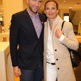Hannes Rahlenbeck (G+J) und Dorothee Ingwersen (Olsen)