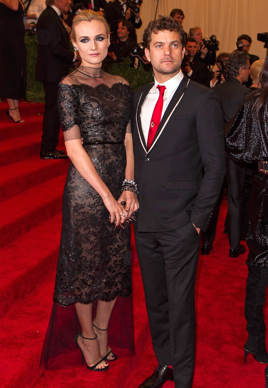 Diane Kruger in Chanel und Joshua Jackson