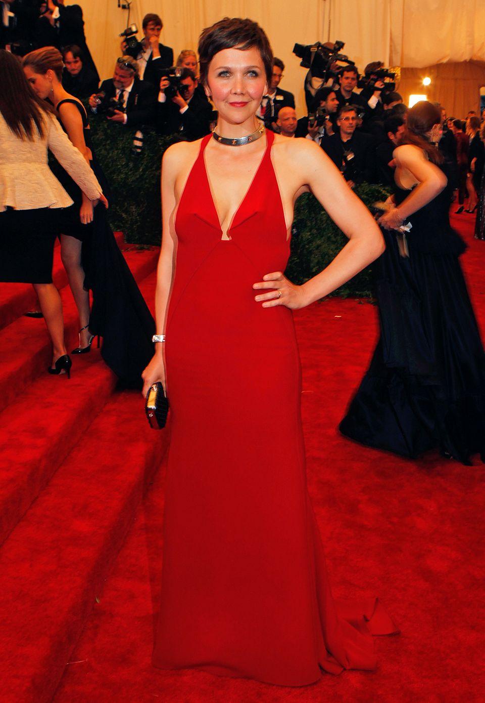 Maggie Gyllenhaal in Calvin Klein