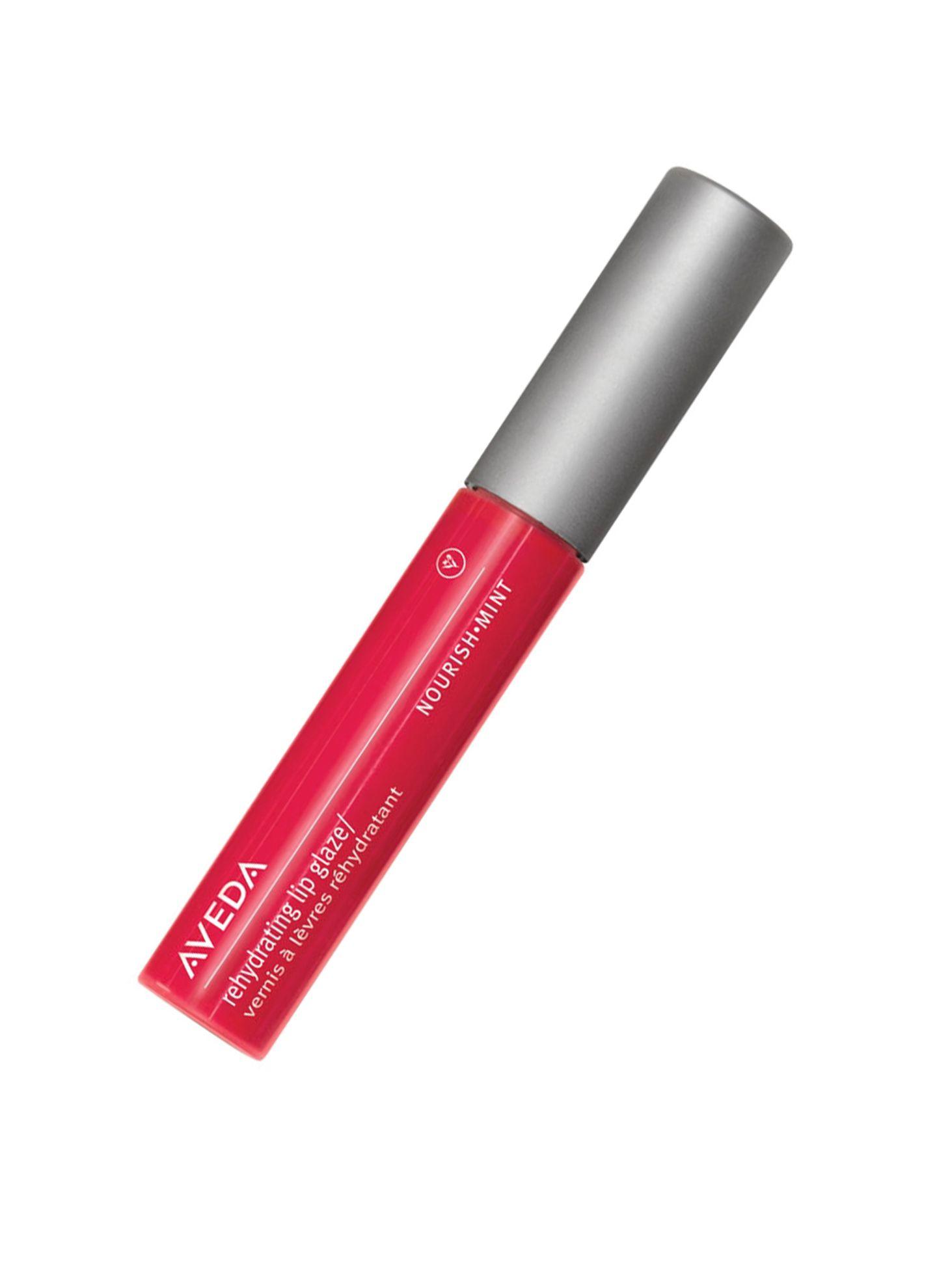 """Glow für die Lippen: """"Rehydrating Lip Glaze Cherry Blossom"""" von Aveda, ca. 21 Euro"""