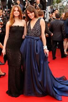 Barbara Palvin mit Milla Jovovich in Armani