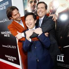 Bradley Cooper, Ken Jeong und Ed Helms