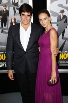 David Copperfleid mit Chloe Gosselin