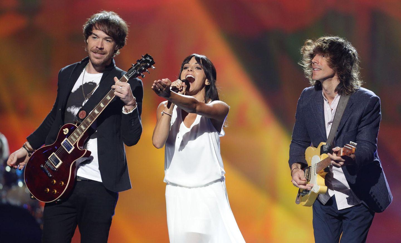 "Mitreißende Spanier: El Sueño de Morfeo bringen mit ""Contigo hasta el final"" Liebes-Folk-Gute-Laune-Pop auf die ESC-Bühne."